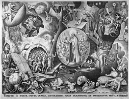 Bruegel the Elder | Christ in Hell, c.1561 | Giclée Paper Print