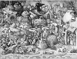 Bruegel the Elder | Pride, from The Seven Deadly Sins, 1558 | Giclée Paper Print