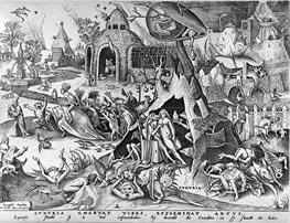 Bruegel the Elder | Lust, from The Seven Deadly Sins, 1558 | Giclée Paper Print