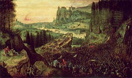 Bruegel the Elder | The Suicide of Saul (Selbstmord Sauls), 1562 | Giclée Canvas Print