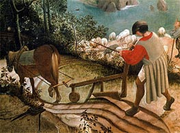 Bruegel the Elder | Landscape with the Fall of Icarus (Detail), c.1555/58 | Giclée Canvas Print