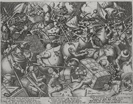 Bruegel the Elder | The Fight of the Money-Bags, c.1563 | Giclée Paper Print