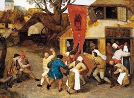 Bruegel the Elder | A Village Kermesse, c.1565 | Giclée Canvas Print
