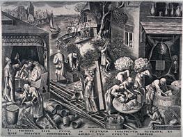 Bruegel the Elder | Prudence, 1558 | Giclée Paper Print