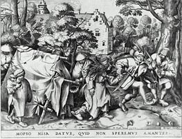 Bruegel the Elder | Marriage of Mapsus and Nisa, 1570 | Giclée Paper Print