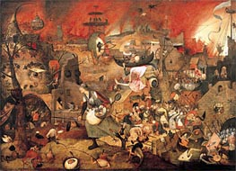 Bruegel the Elder | Dulle Griet (Mad Meg), 1564 | Giclée Canvas Print