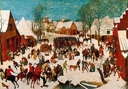 Bruegel the Elder | Massacre of the Innocents, c.1565/67 | Giclée Canvas Print
