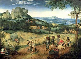 Bruegel the Elder | Haymaking | Giclée Canvas Print