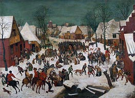 Bruegel the Elder | Massacre of the Innocents, 1565 | Giclée Canvas Print
