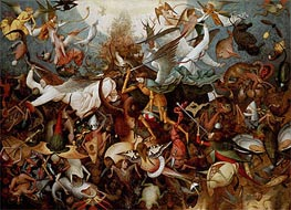 Bruegel the Elder | The Fall of the Rebel Angels, 1562 | Giclée Canvas Print