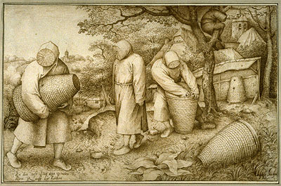 The Beekeepers, 1567 | Bruegel the Elder | Painting Reproduction
