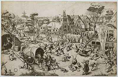 The Fair on St. George's Day, c.1559/60 | Bruegel the Elder | Painting Reproduction