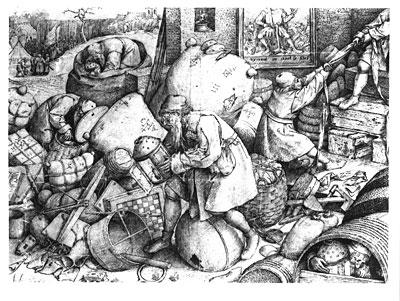 Everyman, Undated | Bruegel the Elder | Painting Reproduction