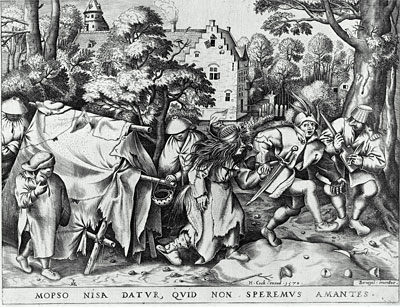 Marriage of Mapsus and Nisa, 1570 | Bruegel the Elder | Painting Reproduction