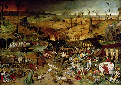The Triumph of Death, c.1562 | Bruegel the Elder | Painting Reproduction