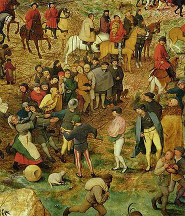 The Procession to Calvary (Detail), 1564 | Bruegel the Elder | Painting Reproduction