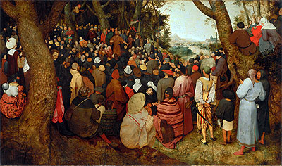 The Sermon of St. John the Baptist, 1566 | Bruegel the Elder | Painting Reproduction