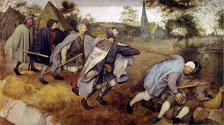 Bruegel the Elder | Parable of the Blind, 1568 | Giclée Canvas Print