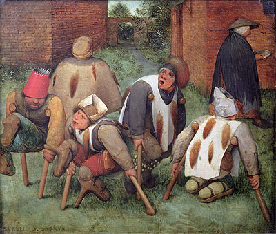 The Beggars, 1568 | Bruegel the Elder | Painting Reproduction