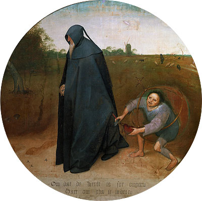 The Misanthrope, 1568 | Bruegel the Elder | Painting Reproduction