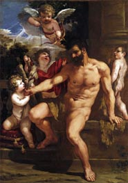 Pietro da Cortona | The Punishment of Hercules, 1635 | Giclée Canvas Print