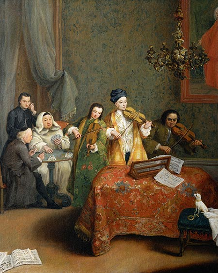 Pietro Longhi | The Concert, 1741 | Giclée Canvas Print