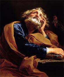 Pompeo Batoni | St Peter, c.1740/43 | Giclée Canvas Print