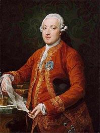 Pompeo Batoni | Don Jose Monino y Redondo, Conde de Floridablanca, c.1776 | Giclée Canvas Print