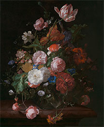 Still Life with Flowers, 1709 by Rachel Ruysch | Giclée Canvas Print
