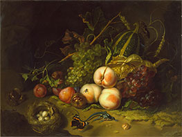 Still-Life with Fruit, Flowers and Insects, c.1711 by Rachel Ruysch | Giclée Canvas Print
