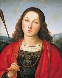 Raphael | Saint Sebastian | Giclée Canvas Print