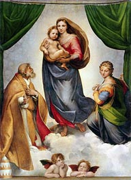 Raphael | The Sistine Madonna | Giclée Canvas Print