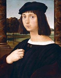 Raphael | Portrait of a Youth | Giclée Canvas Print