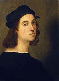 Raphael | Self Portrait | Giclée Canvas Print