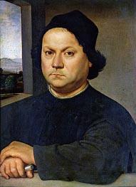 Raphael | Portrait of Perugino | Giclée Canvas Print