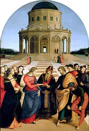 Raphael | The Marriage of the Virgin, 1504 | Giclée Canvas Print