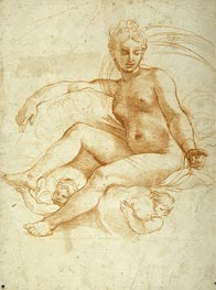 Raphael | Venus Seated on Clouds, undated | Giclée Paper Print