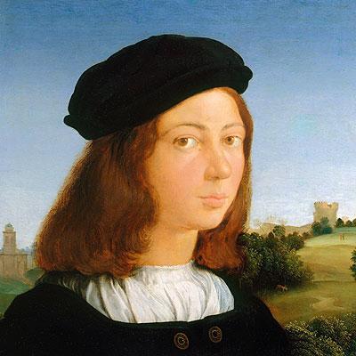 Portrait of a Man, c.1506/13 | Raphael | Painting Reproduction