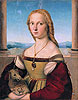 Raphael - Lady with a Unicorn - Art Print / Posters