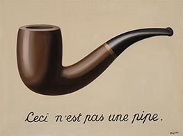 This is Not a Pipe, 1929 by Rene Magritte | Giclée Canvas Print