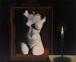 The Light of Coincidences, 1933 by Rene Magritte   Giclée Canvas Print