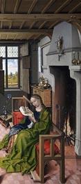 Robert Campin | St Barbara, 1438 | Giclée Canvas Print