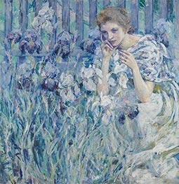 Robert Reid | Fleur de Lis, c.1895/900 | Giclée Canvas Print