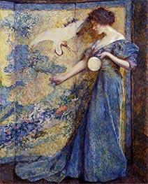 Robert Reid | The Mirror, c.1910 | Giclée Canvas Print