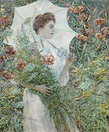 Robert Reid | The White Parasol, c.1907 | Giclée Canvas Print
