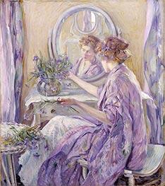 Robert Reid | The Violet Kimono, c.1910 | Giclée Canvas Print