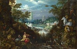 Roelandt Savery | Orpheus, 1628 | Giclée Canvas Print