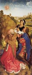 van der Weyden   Three Magi   Giclée Canvas Print