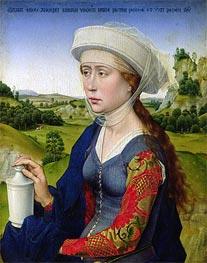 van der Weyden | St. Mary Magdalene | Giclée Canvas Print