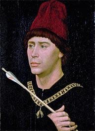 van der Weyden | Portrait of Anthony of Burgundy | Giclée Canvas Print